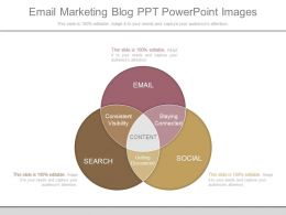 Present Email Marketing Blog Ppt Powerpoint Images