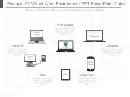 Present Example Of Virtual Work Environment Ppt Powerpoint Guide