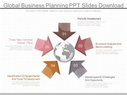 Present Global Business Planning Ppt Slides Download