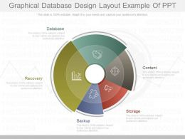Present Graphical Database Design Layout Example Of Ppt