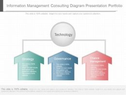 Present Information Management Consulting Diagram Presentation Portfolio