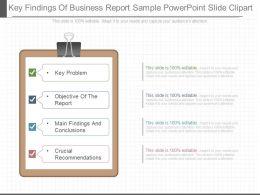 present_key_findings_of_business_report_sample_powerpoint_slide_clipart_Slide01