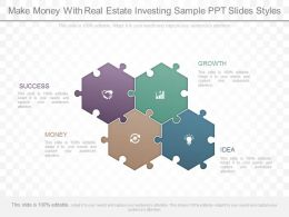 Present Make Money With Real Estate Investing Sample Ppt Slides Styles