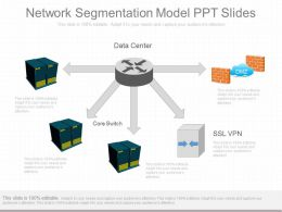 Present Network Segmentation Model Ppt Slides