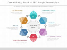 Present Overall Pricing Structure Ppt Sample Presentations