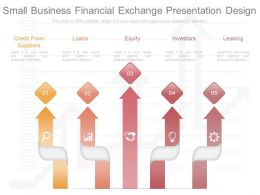 Present Small Business Financial Exchange Presentation Design
