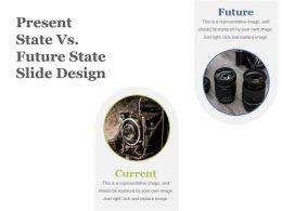 Present State Vs Future State Slide Design