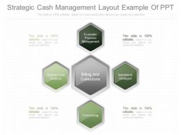 Present Strategic Cash Management Layout Example Of Ppt