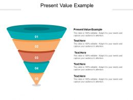 Present Value Example Ppt Powerpoint Presentation Ideas Example Introduction Cpb
