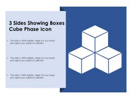 Presentation23 Sides Showing Boxes Cube Phase Icon