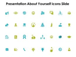 Presentation About Yourself Icons Slide Currency Ppt Powerpoint Presentation Infographics Gallery