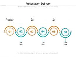 Presentation Delivery Ppt Powerpoint Presentation Inspiration Designs Download Cpb