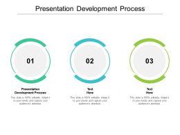 Presentation Development Process Ppt Powerpoint Presentation Slides Inspiration Cpb