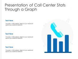 Presentation Of Call Centre Stats Through A Graph