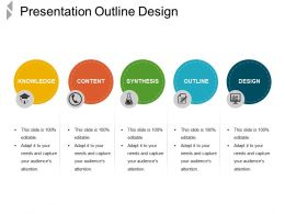 Presentation Outline Design Ppt Templates