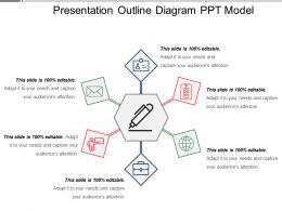 Presentation Outline Diagram Ppt Model