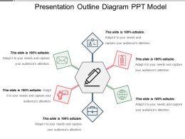 Presentation Outline Diagram Ppt Model