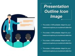 Presentation Outline Icon Image Ppt Icon