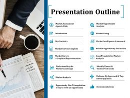 Presentation Outline Ppt Inspiration Good