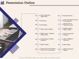Presentation Outline Size Triangulation Ppt Powerpoint Presentation Show Inspiration