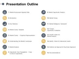 Presentation Outline Statistics Ppt Powerpoint Presentation Portfolio Slide Portrait
