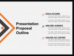 Presentation Proposal Outline PowerPoint Slides Design