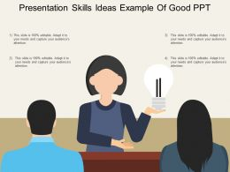 Presentation Skills Ideas Example Of Good Ppt