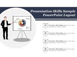 Presentation Skills Sample Powerpoint Layout