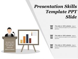 Presentation Skills Template Ppt Slide
