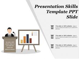 Presentation Skills Template Ppt Slide