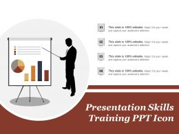 Presentation Skills Training Ppt Icon