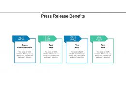 Press Release Benefits Ppt Powerpoint Professional Graphic Images Cpb