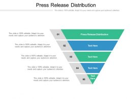 Press Release Distribution Ppt Powerpoint Presentation Slides File Formats Cpb