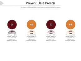 Prevent Data Breach Ppt Powerpoint Presentation Pictures File Formats Cpb