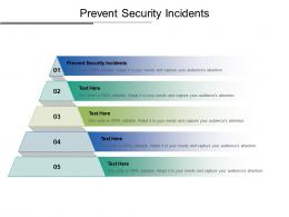 Prevent Security Incidents Ppt Powerpoint Presentation Slides Model Cpb