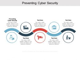 Preventing Cyber Security Ppt Powerpoint Presentation Professional Grid Cpb
