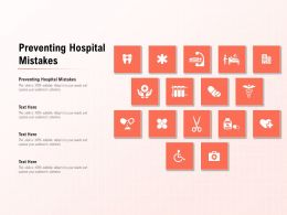 Preventing Hospital Mistakes Ppt Powerpoint Presentation Model Picture