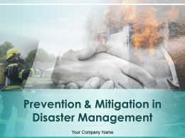 Prevention And Mitigation In Disaster Management Powerpoint Presentation Slides