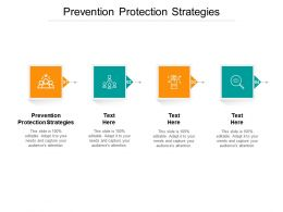 Prevention Protection Strategies Ppt Powerpoint Presentation Infographic Cpb