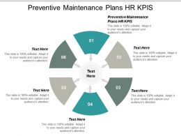 Preventive Maintenance Plans HR KPIS Ppt Powerpoint Presentation File Guide Cpb
