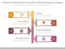 Preventive Maintenance Powerpoint Slide Background Designs