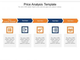 Price Analysis Template Ppt Powerpoint Presentation Styles Graphic Images Cpb