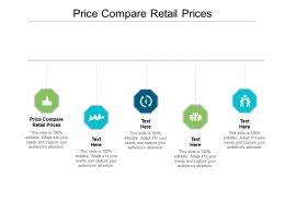 Price Compare Retail Prices Ppt Powerpoint Presentation Infographics Gridlines Cpb