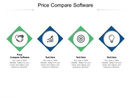 Price Compare Software Ppt Powerpoint Presentation Professional Slide Download Cpb