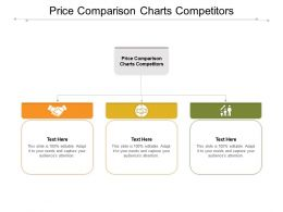Price Comparison Charts Competitors Ppt Powerpoint Presentation Pictures Sample Cpb