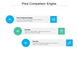 Price Comparison Engine Ppt Powerpoint Presentation Icon Examples Cpb