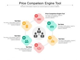 Price Comparison Engine Tool Ppt Powerpoint Presentation Ideas Structure Cpb