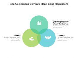 Price Comparison Software Map Pricing Regulations Ppt Powerpoint Presentation Portfolio Styles Cpb