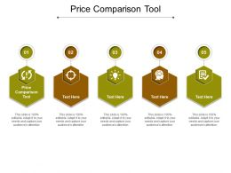 Price Comparison Tool Ppt Powerpoint Presentation Pictures Outline Cpb