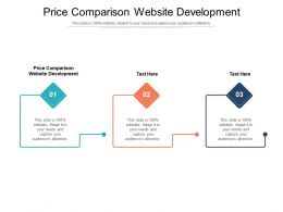 Price Comparison Website Development Ppt Powerpoint Presentation Outline Themes Cpb